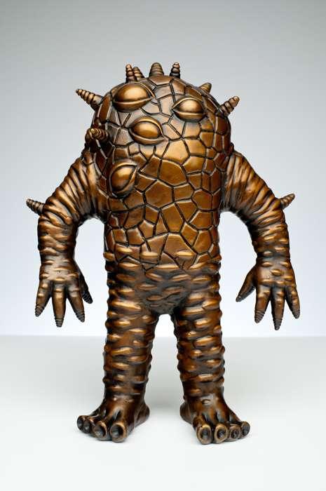 Metallic Monster Figurines