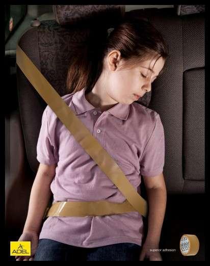 Sticky Seat Belts