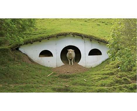 14 Homes for Hobbits