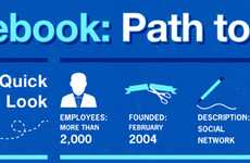 Social Network Evolution Art - The Facebook Infographic is a Business Blueprint