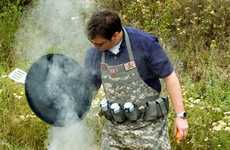 Military Grill Wear - The Tactical Grilling Apron is for Those Serious About Barbecue