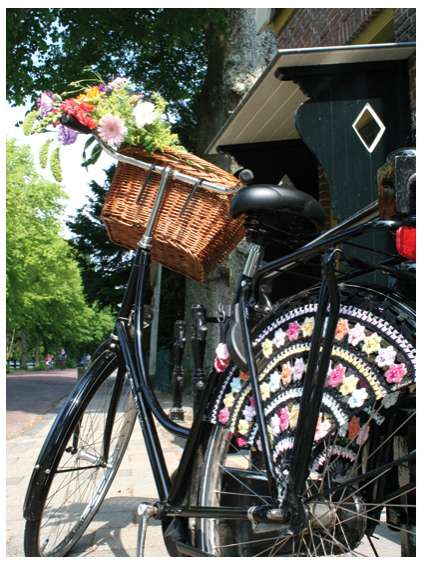 Girly Bicycle Mods - Jazz Up Your Bike with Simeli Dress Guards