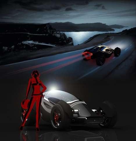 Futuristic Street Racers