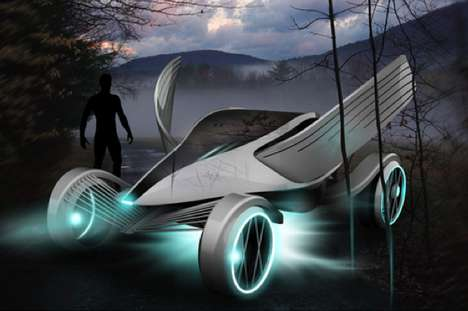 Winged Eco Vehicles