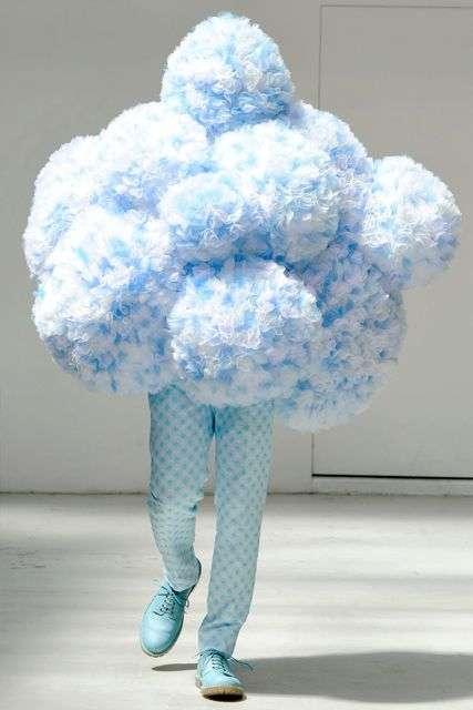 The Walter Van Beirendonck Spring/Summer 2012 Collection Shows Tufted Fluff
