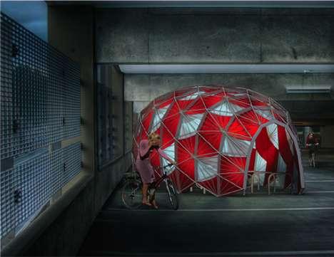Tortoiseshell Bicycle Shelters