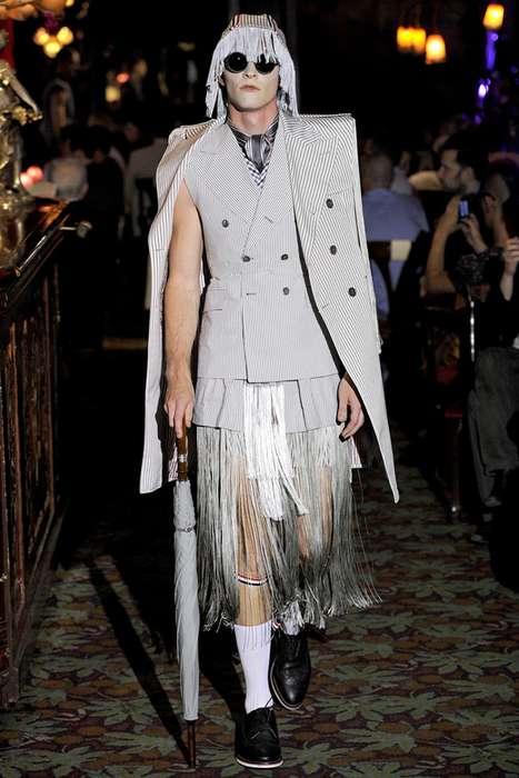 Fanciful Fringe Fashions