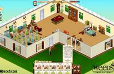 Social Media Highs - The Weeds Social Club Facebook App Teaches Players the Drug Business