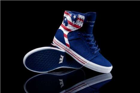 Flag-Waving High Tops