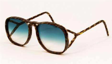Hairy Sun Shields - Studio Swine's Human Hair Glasses are Ideal for Eco-Friendly Fashionistas