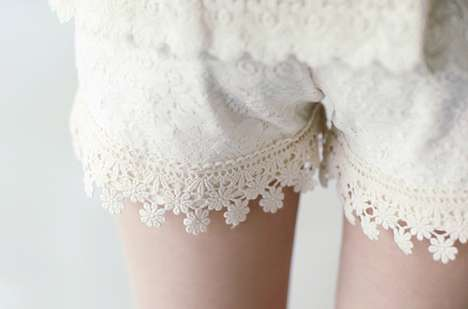 These DIY Lace Shorts are Simply Stunning