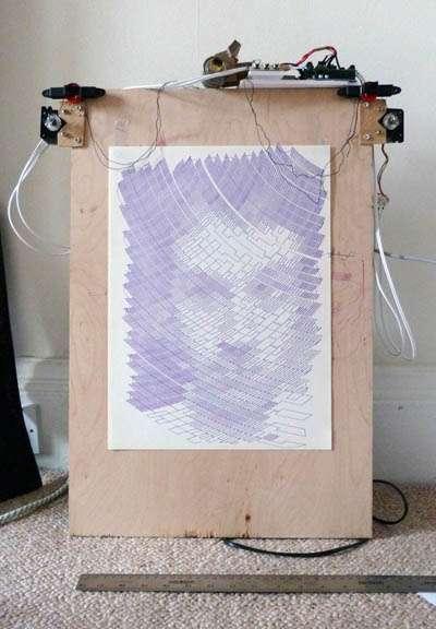 Robotic Pixel Painters