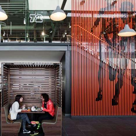 Sporty Corporate Cafeterias