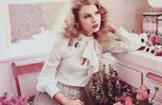 Old Hollywood Celebtorials - The Taylor Swift Teen Vogue Shoot Channels Jackie O