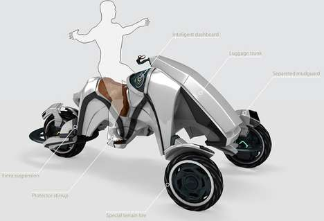 Formidable Futuristic ATVs