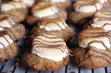 Campfire Confectionary Treats - These S'Mores Cookies Will Have You Asking for More
