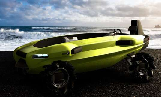 Amphibious Surf Autos