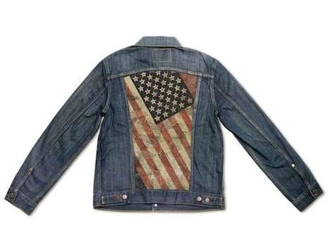 Star Spangled Graffiti Jackets