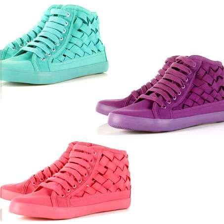 Picnic Basket-Inspired Sneakers