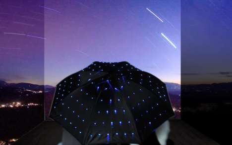 Starry Night Parasols