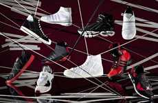 Sporty Webbed Designer Kicks - Adidas for Yohji Yamamoto AW 2011 Pushes the Boundaries of Style