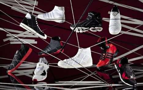 Sporty Webbed Designer Kicks