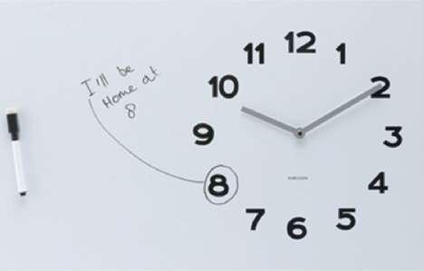 Dry Erase Timepieces