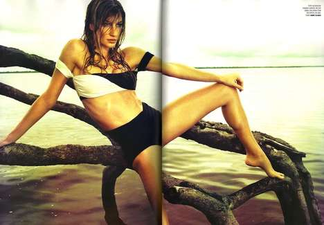 Stunning Supermodel Swimshoots