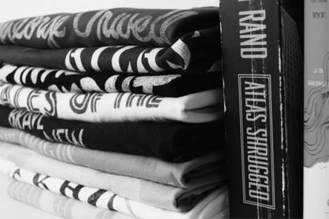 One-for-One Tees - Out of Print Marries Lost Literary Covers with Book Donations