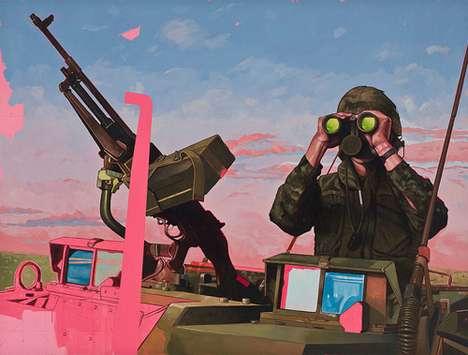 Detailed Real-Life War Illustrations