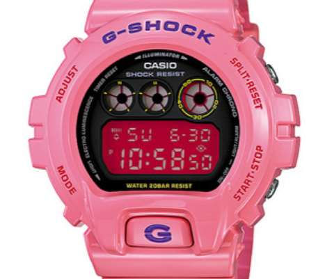 The Casio G-Shock DW-6900 Watch is Infused With Style & Color