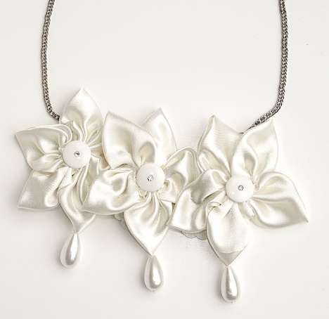 Whipped Cream Jewelry - The Yael Uriely 2011 Eco Summer Accessories Collection was Inspired by Candy
