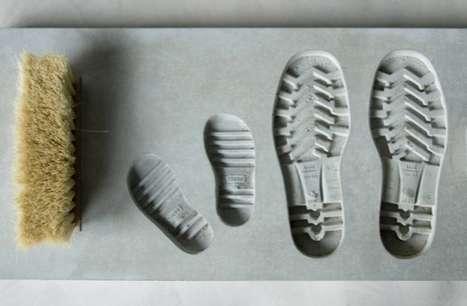 Depressed Footprint Door Mats