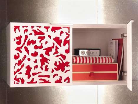Contemporary Rusticated Cupboards