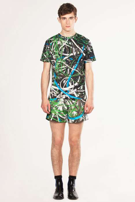 Playful Printed Menswear
