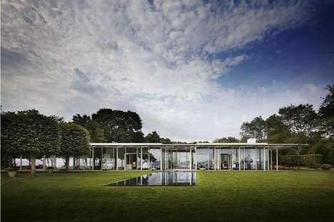 Grassy Greenhouse Architecture