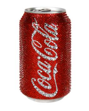 Bejeweled Beverage Cans