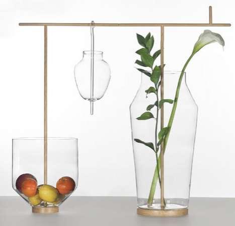 Delicate Glass Sculptures