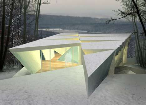 Ice Crystal Cabins