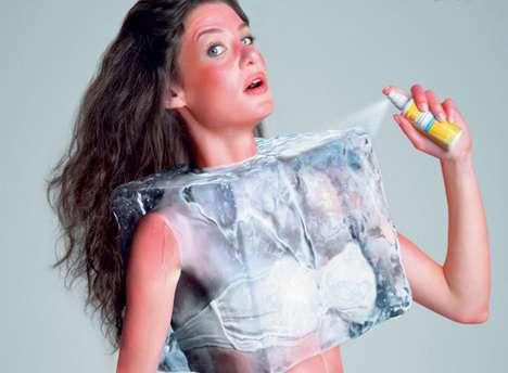 Ice Block Bikini Tops