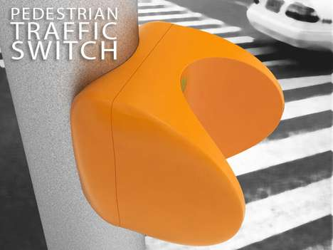 Contact-Free Crossing Buttons - This Pedestrian Traffic Switch is Motion-Sensored