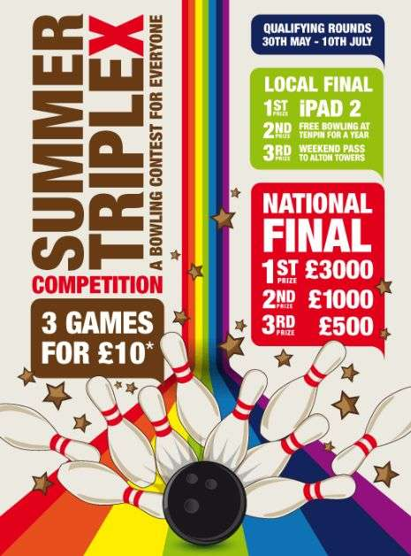 The Summer Triple X Competition Gives You a New Perspective on Bowling