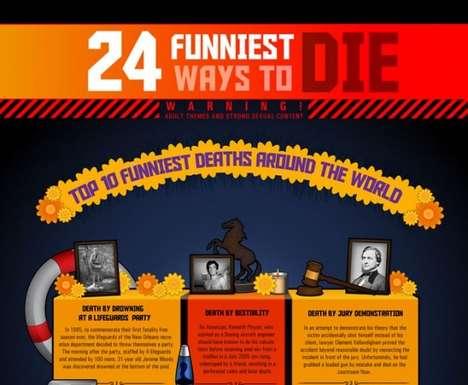 Hilarious Death Charts