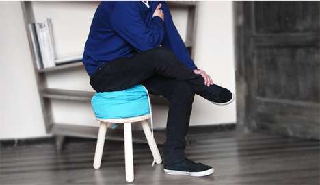 Laundry Bag Barstools