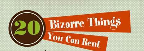 The Interesting 20 Bizarre Things You Can Rent Diagram