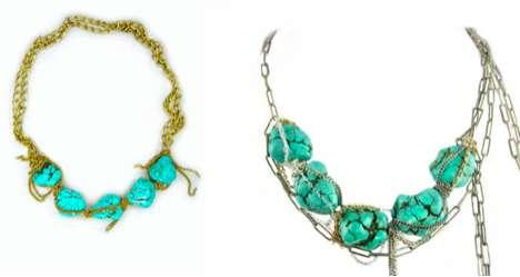 Stunning Aqua Adornments