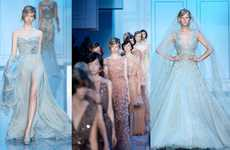 Dreamy Princess Dresses - The Elie Saab Fall Couture Collection is Light and Airy