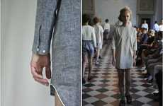 Psych Ward Fashion - The AI_ SS12 Collection is Filled with Uniform-Like Outfits