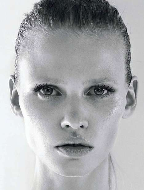 The Lara Stone Vogue Russia Shoot Features Fresh-Faced Spirit