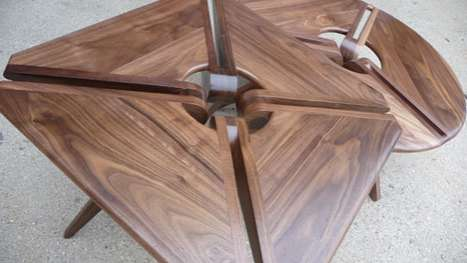 Crossly Carved Tables
